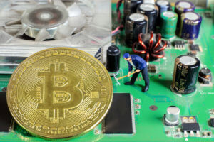Mining for cryptocurrencies
