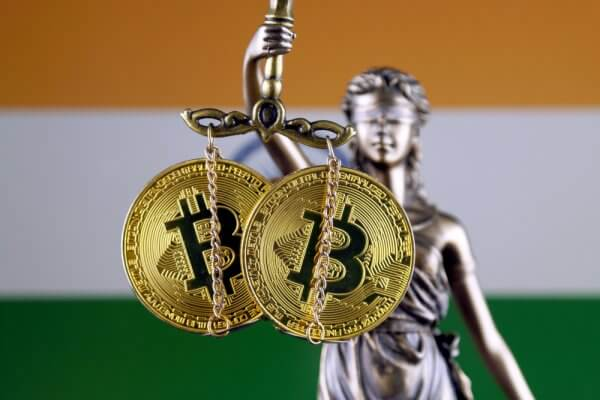 Cryptocurrency in India.