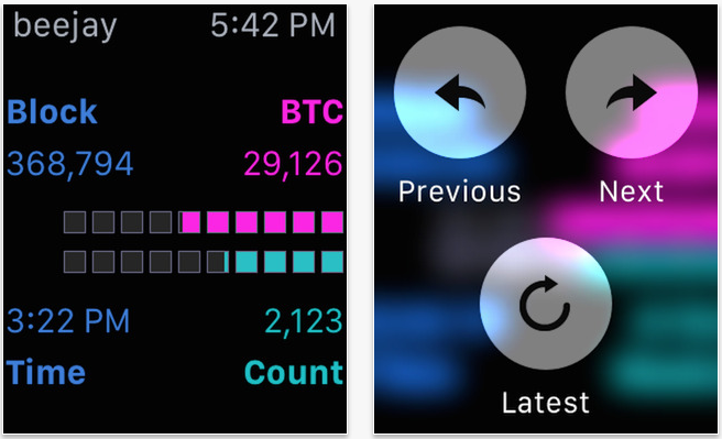 blockjockey, apple watch