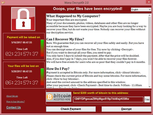 Ransomware, WannaCry, NHS cyberattack, ransomware virus