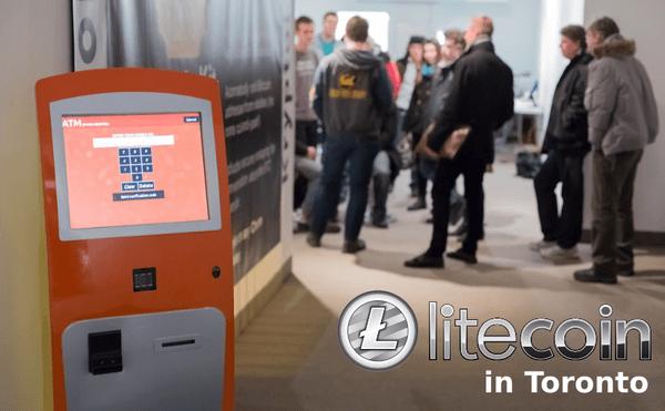 LBN Toronto Litecoin ATMs