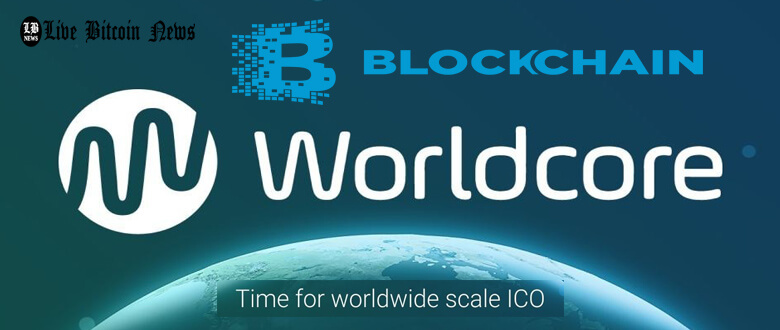 WorldCore ICO, WRC, initial coin offering, crowdfunding, smart contracts,