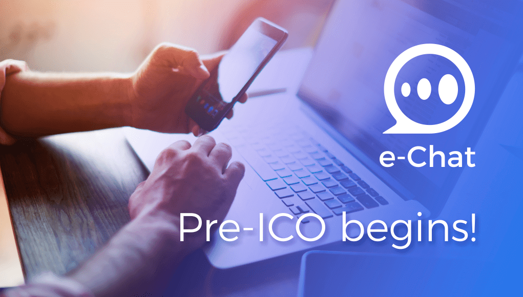 e-chat, ico, pre ico, presale, tokens