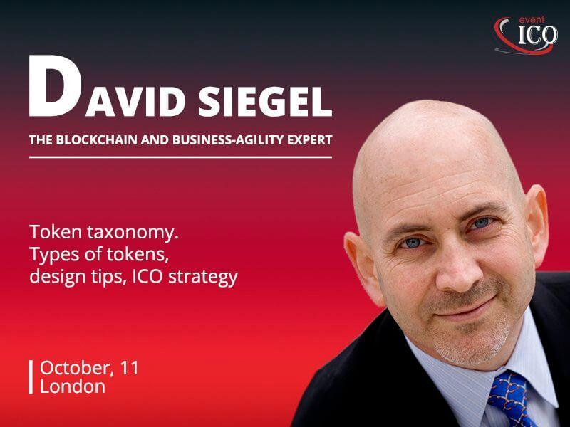 Daviud Siegel, ico event london, london, ico