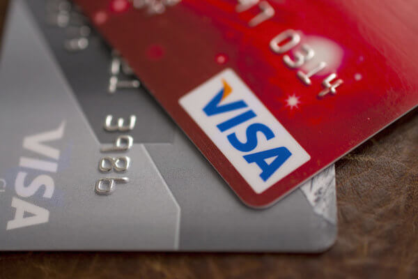 Visa can handle tens of thousands of transactions per second in comparison to Bitcoin's 7.