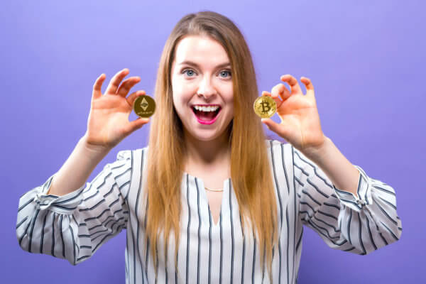 More and more women are getting into cryptocurrency.