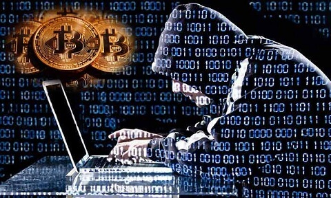 Bitcoin mining via hacking