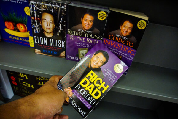Rich Dad Poor Dad by Robert Kiyosaki