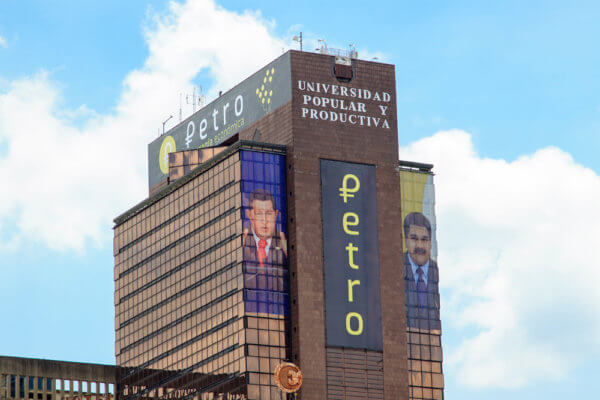 The Petro is a no-show in Venezuela.