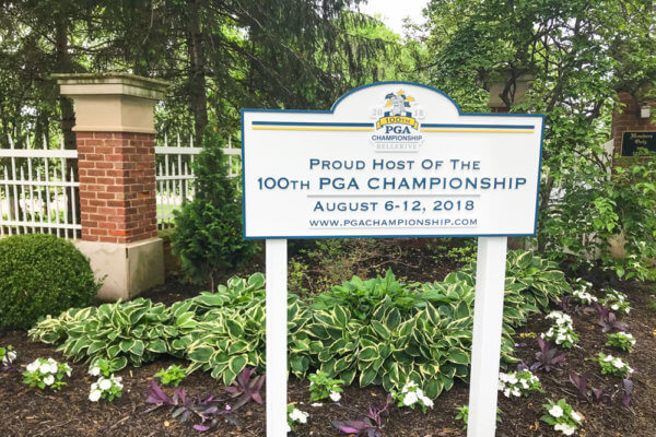 So far, the PGA Championship has not been impacted by the recent ransomware attack.