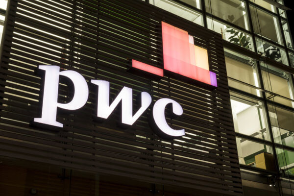 New PwC survey finds many major corporations getting involved in blockchain technology.