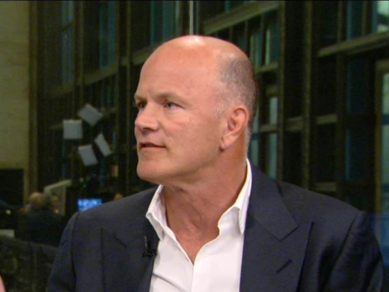 Mike Novogratz Doesn't Think People Will Lose Their Crypto Passwords in the Future