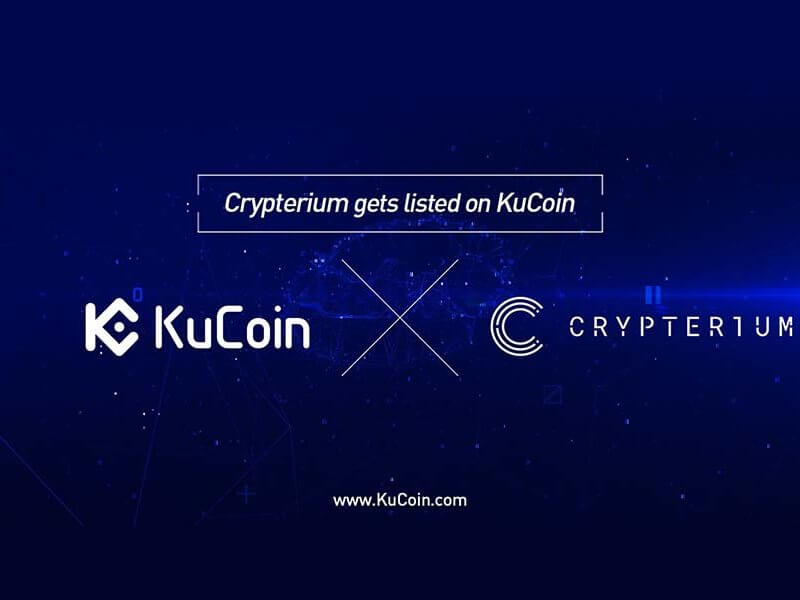 Crypterium (CRPT) Is Now Available At KuCoin Cryptocurrency Exchange Market