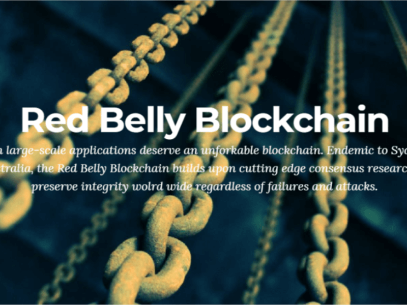 red belly blockchain