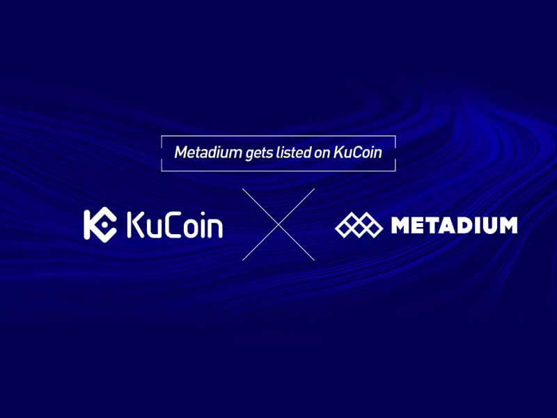 KuCoin Cryptocurrency Exchange Announces Listing of Metadium Utility Token (META)