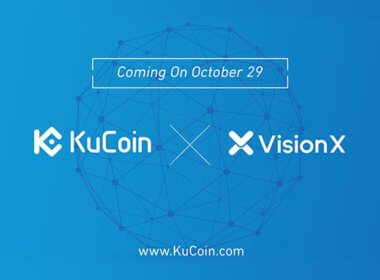 VisionX VNX Now Listed on Kucoin Crypto Exchange Market
