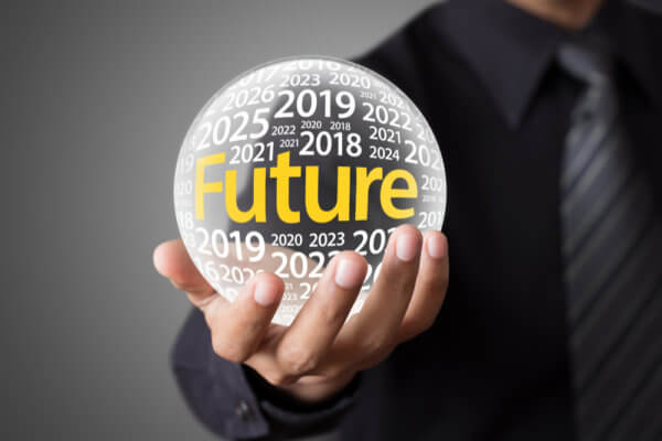 Predictions of future Bitcoin price vary.