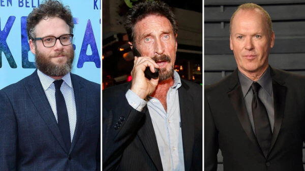 Michael Keaton, Seth Rogen to Star in McAfee biopic