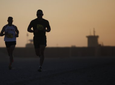 marathon, run for light