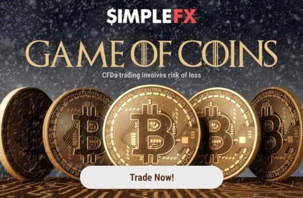 simplefx, cryptocurrency, game of thrones
