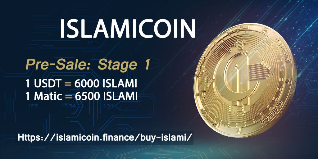 ISLAMICOIN Is Not Just Revolutionizing Cryptocurrency but Is Tackling Ecommerce in the Run up to Their Pre-public Sale.